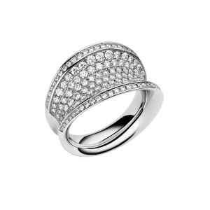 IMPERIALE BAGUE OR BLANC & DIAMANTS