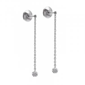Boucles d'oreilles 360° 2 x 0.10ct