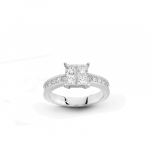 Solitaire Taille Princesse