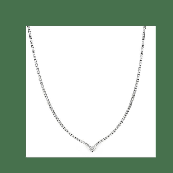 collier diamant riviere