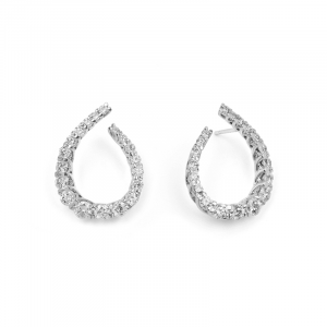 Boucles d'oreilles diamants