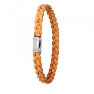 Bracelet Albanu Cuir tressé