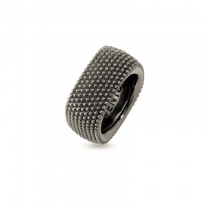 "Bague ""Tiffany"" Pixel Ruthenium"