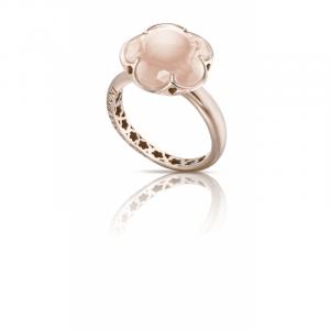 Bague or & quartz rose - bijoux aix marseille
