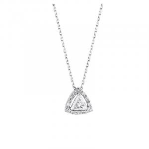 Pendentif diamant troidia - diamant aix - bijouterie aix en provence