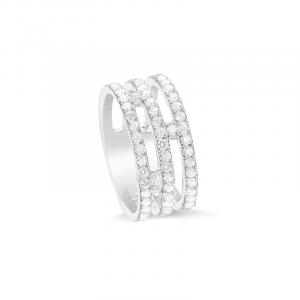 bague 3 ligne diamants bijoux aix