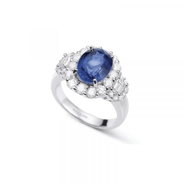 bague saphir & diamants aix en provence