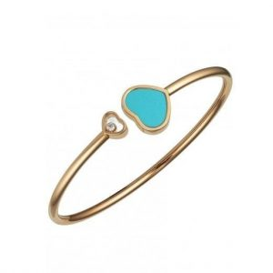 BRACELET HAPPY HEARTS TURQUOISE