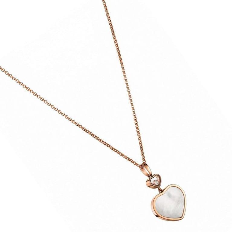 pendentif happy hearts dts nacre chopard bellini bijoux aix en provence. Black Bedroom Furniture Sets. Home Design Ideas
