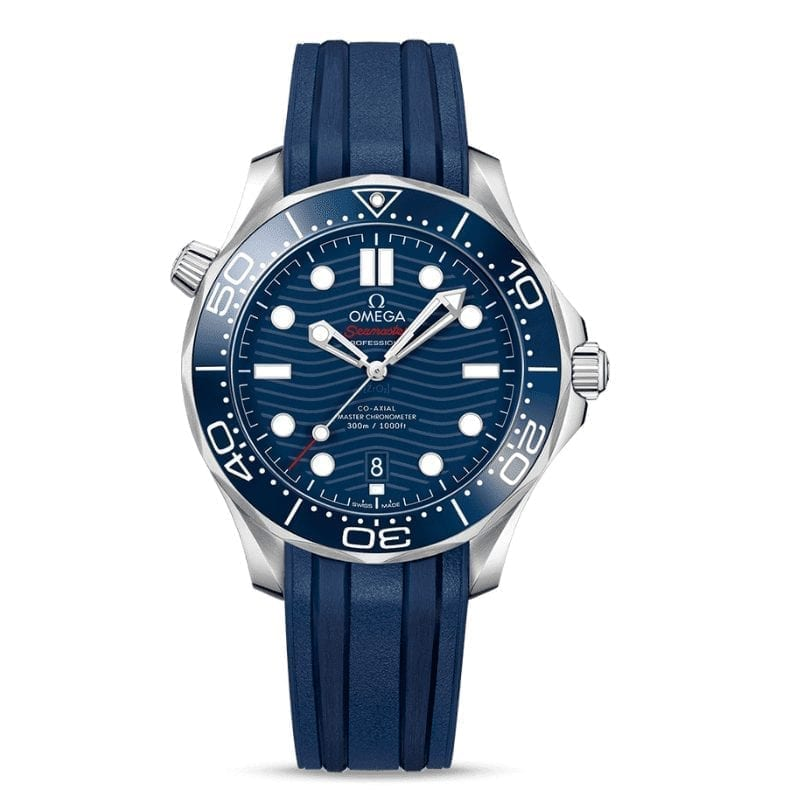 Omega Mm 300m Chronometer Diver Master 42 Co Bleu Axial Seamaster 7f6vbyYg