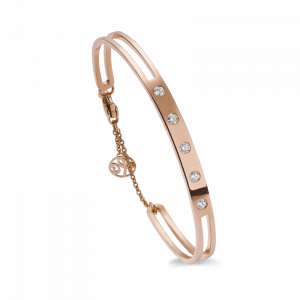 Bracelet rigide or rose