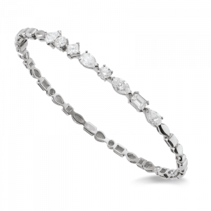 Bracelet rigide diamants