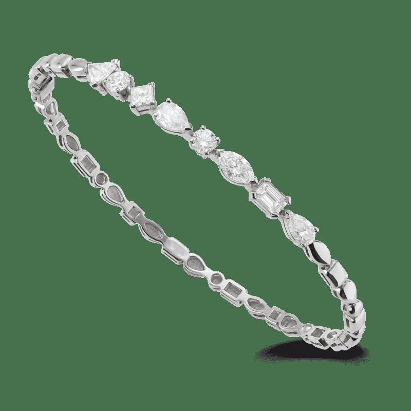 Bracelet rigide diamants