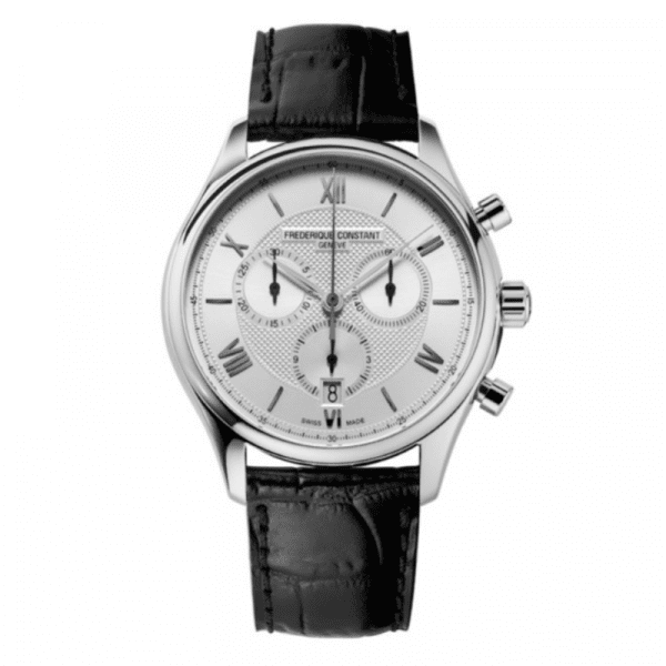 montre Classics Quartz Chronograph acier -constant-bellini-montre