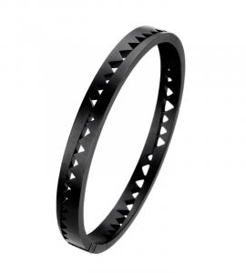 Bracelet Capture-Moi titane noir