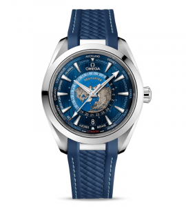 Aqua Terra 150M Omega Co-Axial Master Chronometer Worldtimer