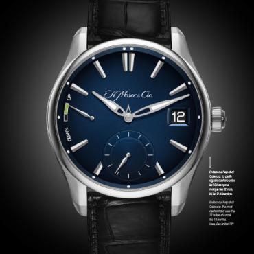 montre H Moser- Bellini Horloger