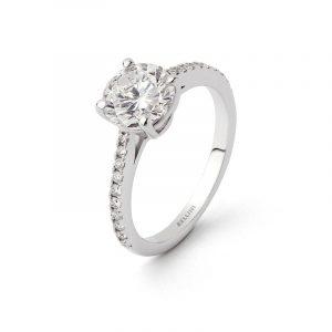 bague solitaire diamant Bellini7057-ref100.7155