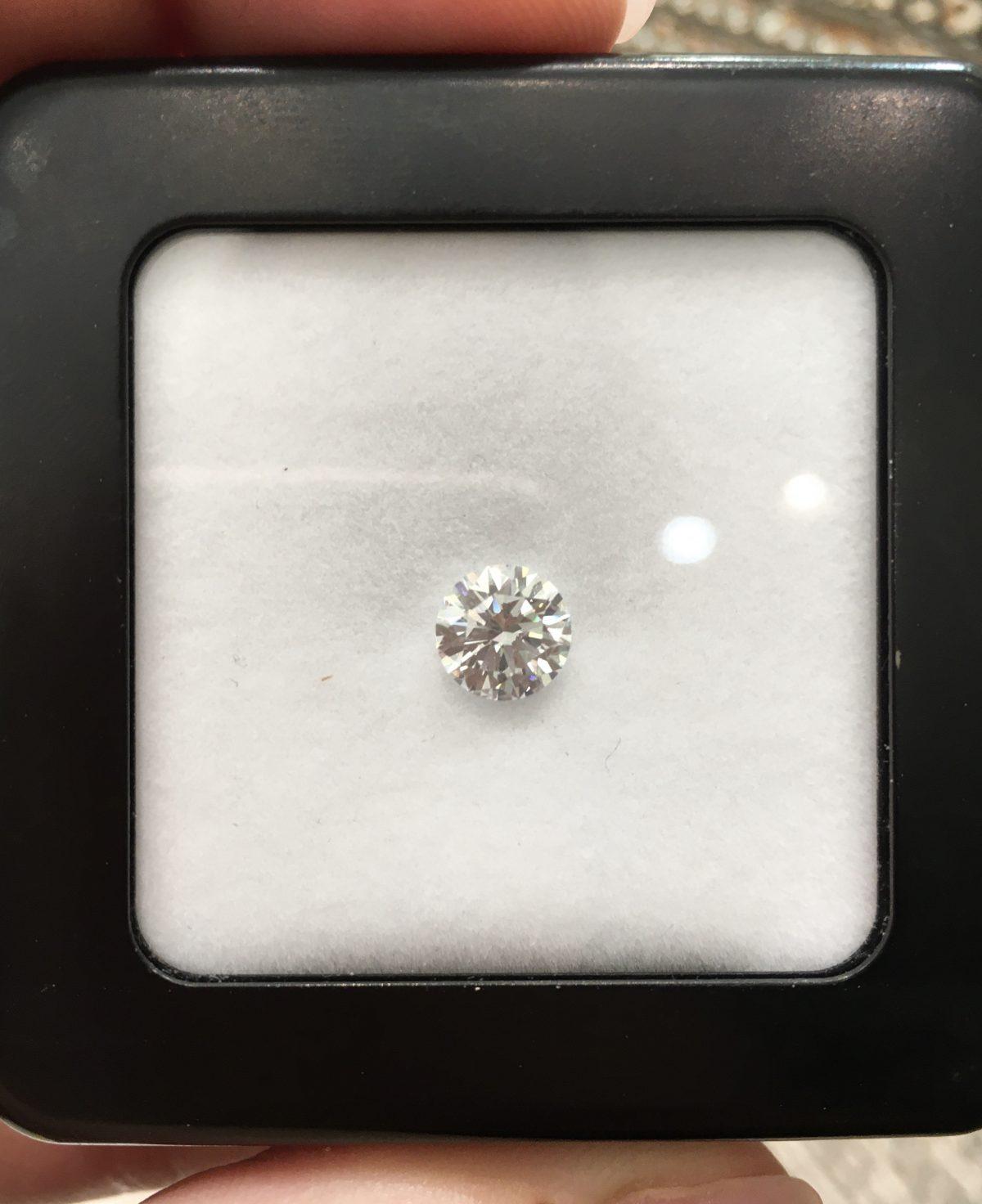 diamant seul non monte bellini joaillier aix
