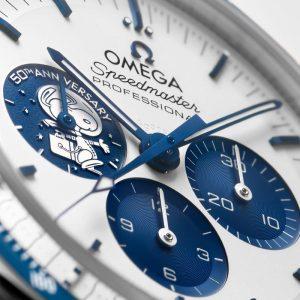 Omega lance la Speedmaster Silver Snoopy Award 50e anniversaire