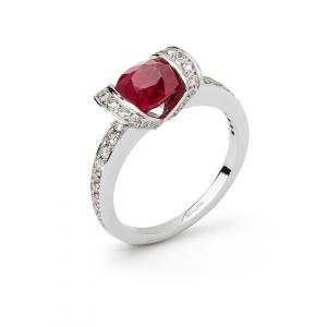 bellini bague rubis diamants