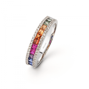 bague multi saphirs bellini