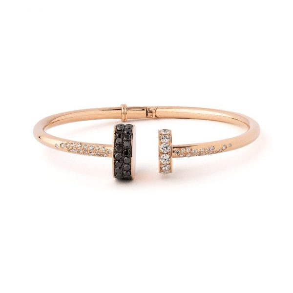 bracelet diamant noir bellini