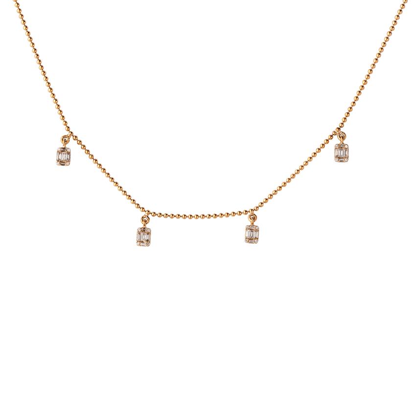 Collier Multidiamants 0.25ct