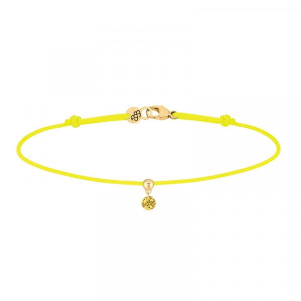 Bracelet-BB-cordon-jaune-saphir-jaune-or-jaune-bellini