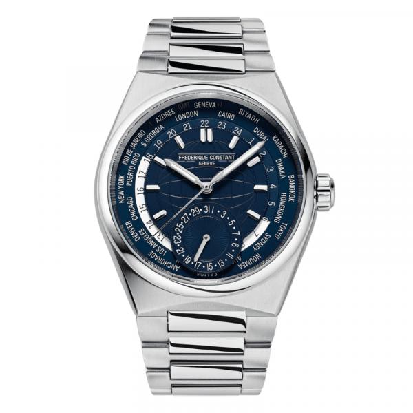 montre frederique constant highlife worldtimer manufacture-bellini